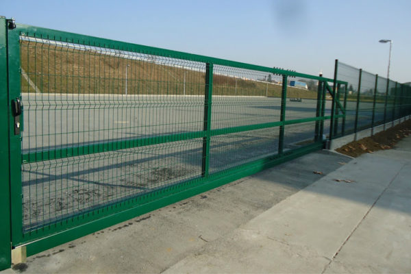 09. Panelové oplotenie RAL6005-samonosna-brana-1750x7000-mm