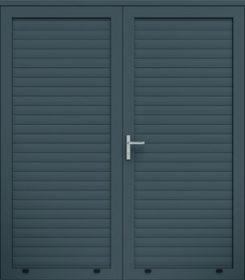 Panelové dvojkrídlové dvere, profil AW100